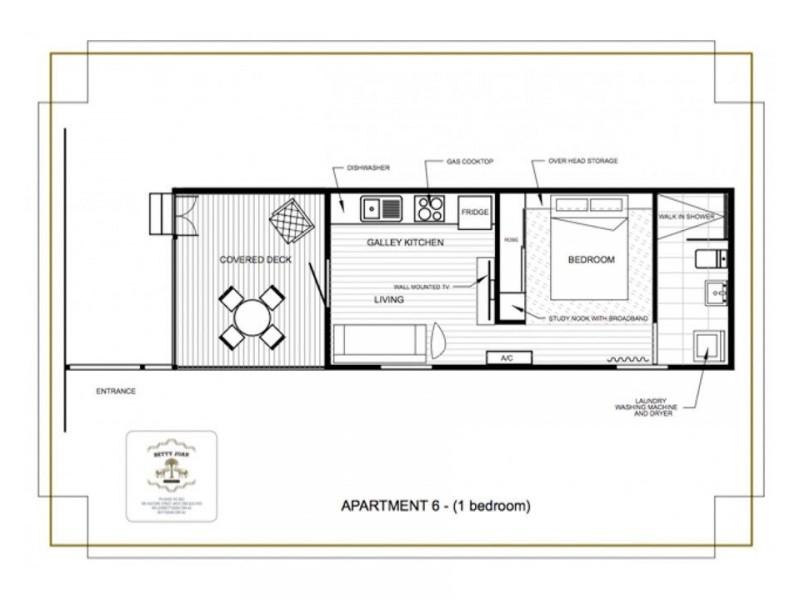 6/185 Vulture Street, South Brisbane QLD 4101 Floorplan
