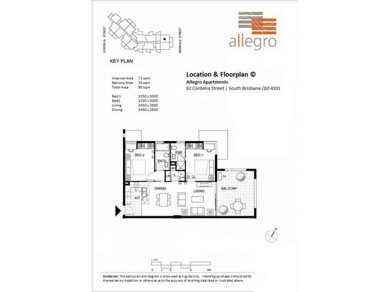 62 Cordelia Street, South Brisbane QLD 4101 Floorplan