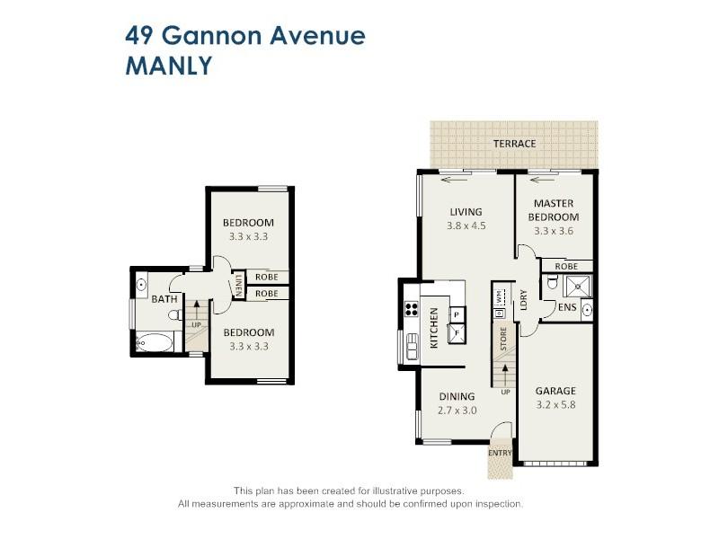 49 Gannon Avenue, Manly QLD 4179 Floorplan