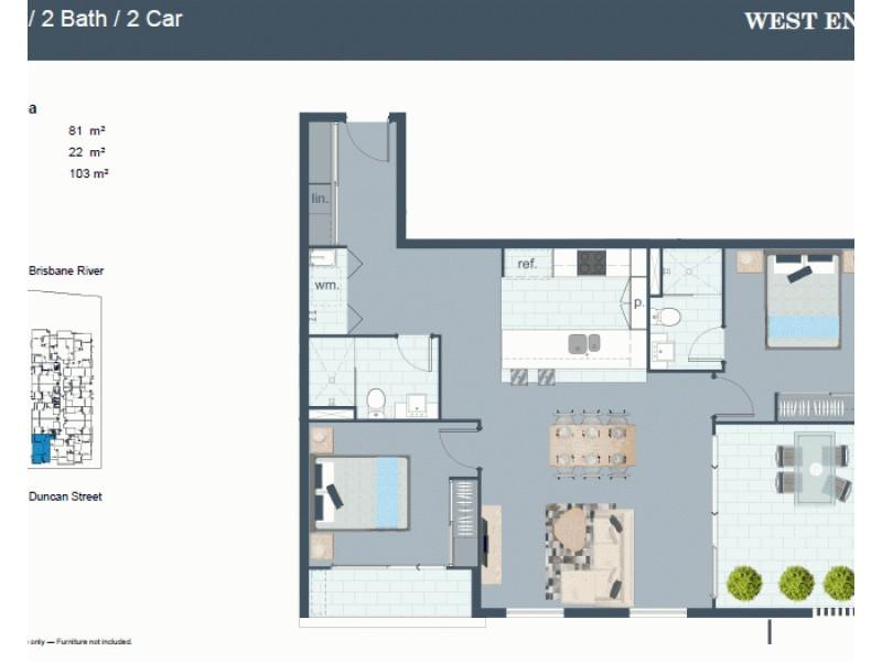 25 Duncan Street, West End QLD 4101 Floorplan