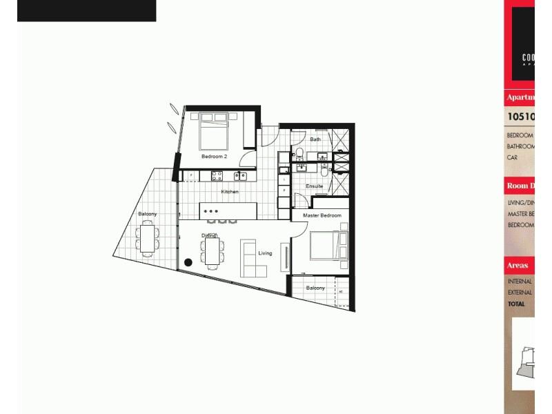20610/300 Old Cleveland Road, Coorparoo QLD 4151 Floorplan