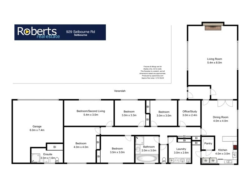 929 Selbourne Road, Selbourne TAS 7292 Floorplan