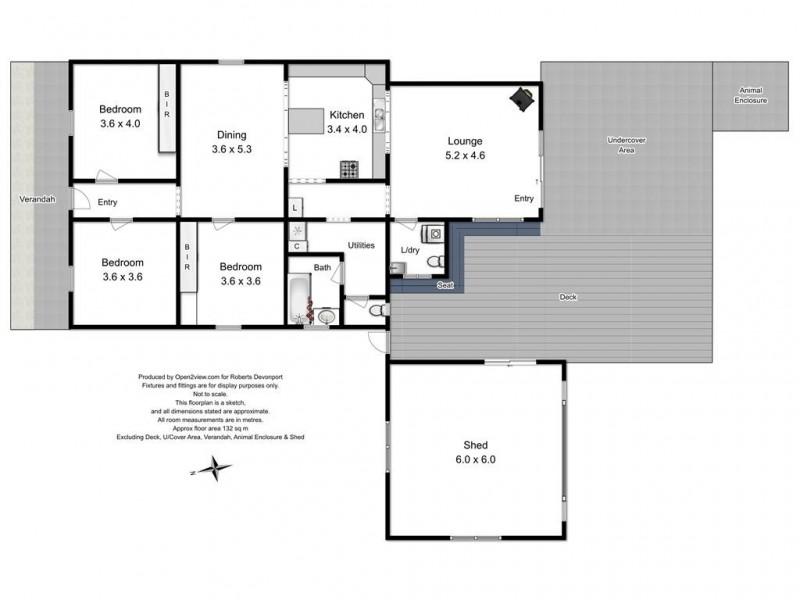 38 Cotton Street, Latrobe TAS 7307 Floorplan