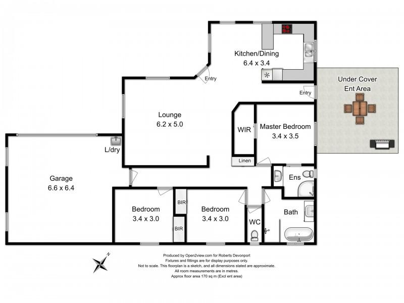 11 Christensen Street, Spreyton TAS 7310 Floorplan
