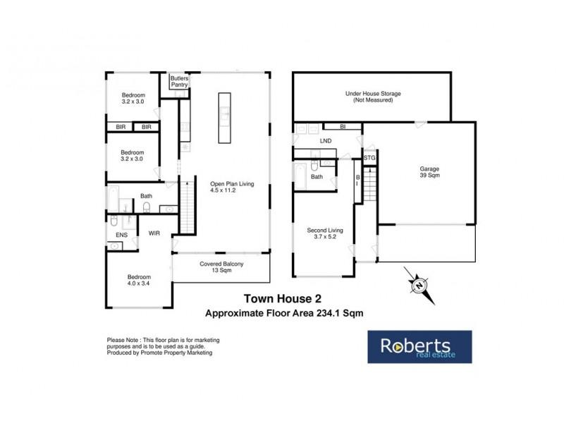 2 / 12 Auburn Road, Kingston Beach TAS 7050 Floorplan