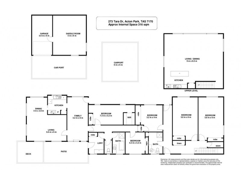 273 Tara Drive, Acton Park TAS 7170 Floorplan