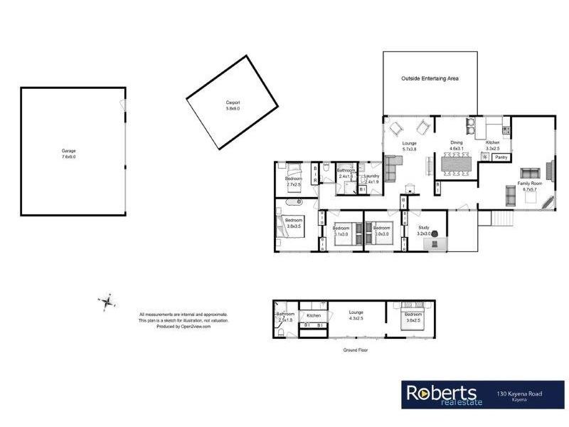 130 Kayena Road, Kayena TAS 7270 Floorplan