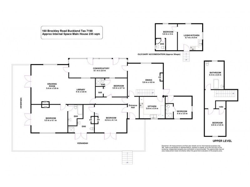 160 Brockley Road, Buckland TAS 7190 Floorplan