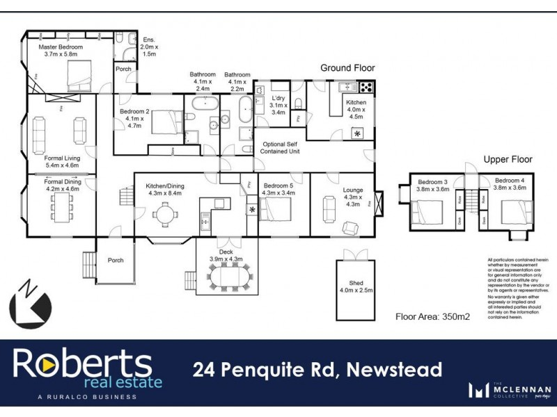 24 Penquite Road, Newstead TAS 7250 Floorplan