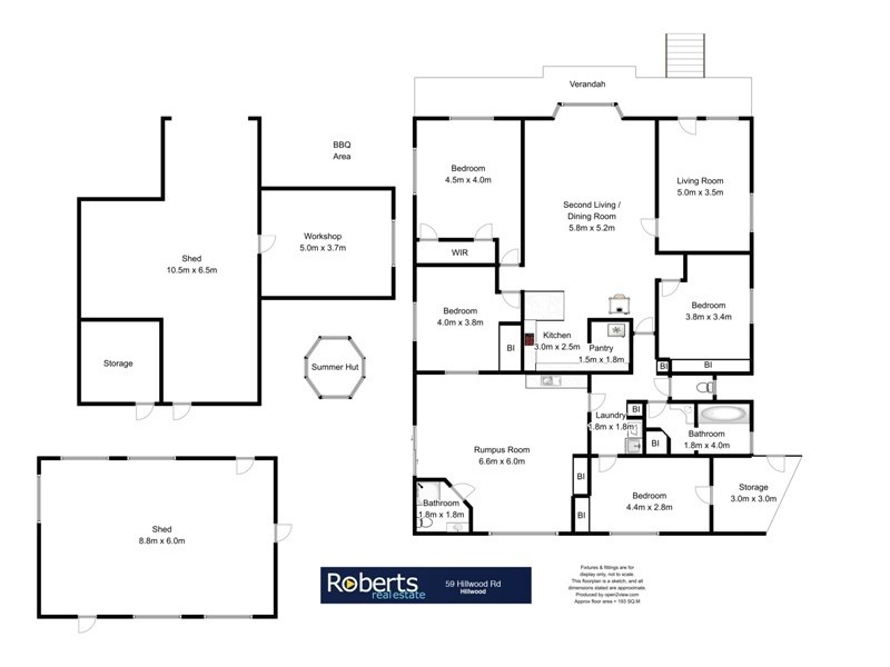59 Hillwood Road, Hillwood TAS 7252 Floorplan