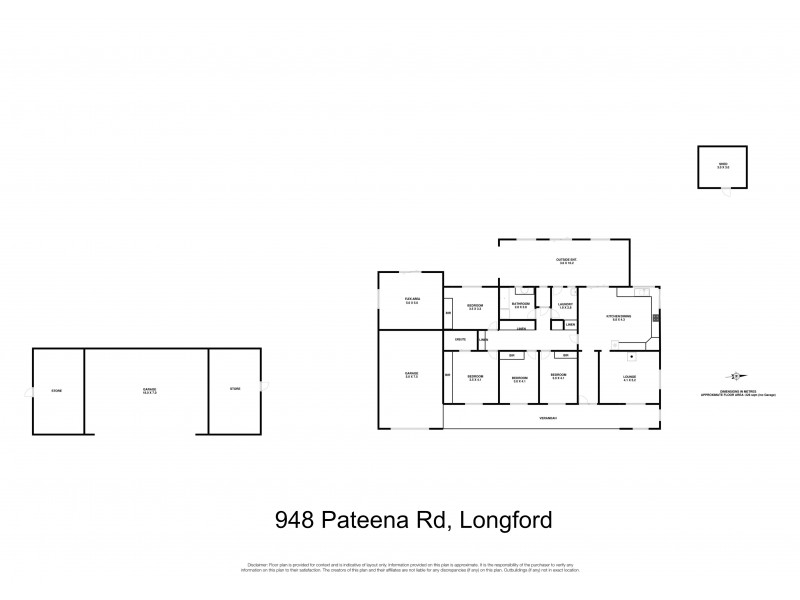 948 Pateena Road, Longford TAS 7301 Floorplan
