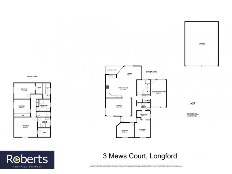 3 Mews Court, Longford TAS 7301 Floorplan