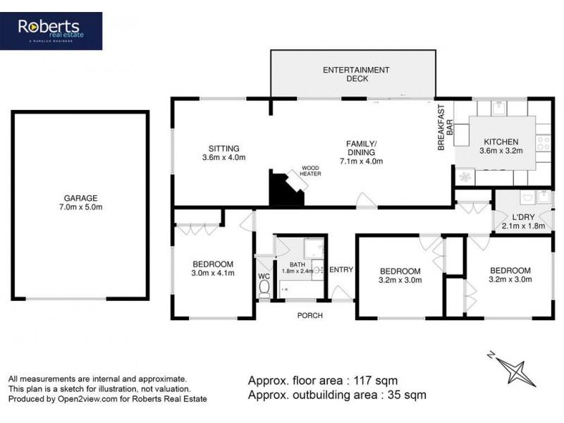 50 Mercury Place, Spring Beach TAS 7190 Floorplan
