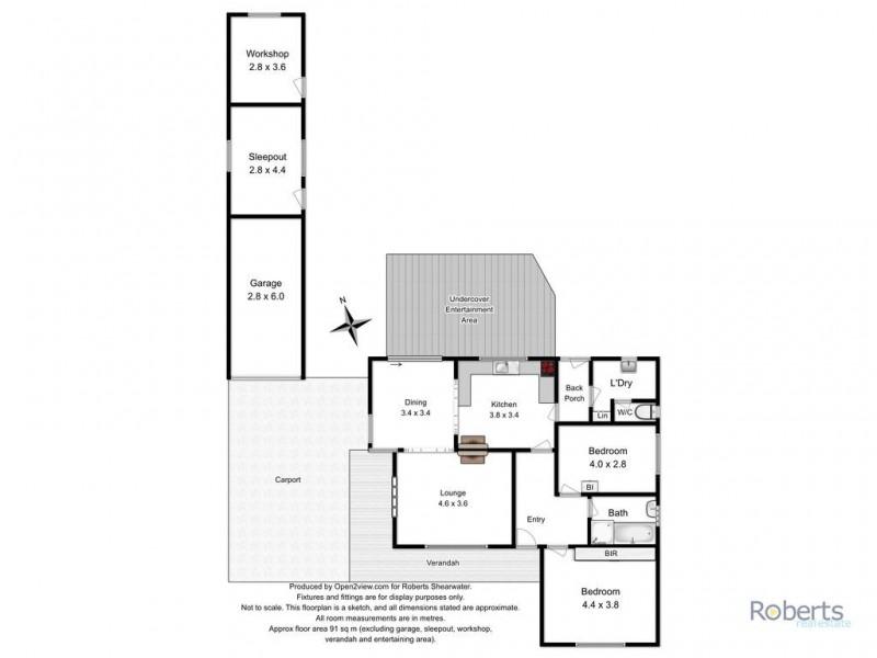 28 Pitcairn Street, Port Sorell TAS 7307 Floorplan
