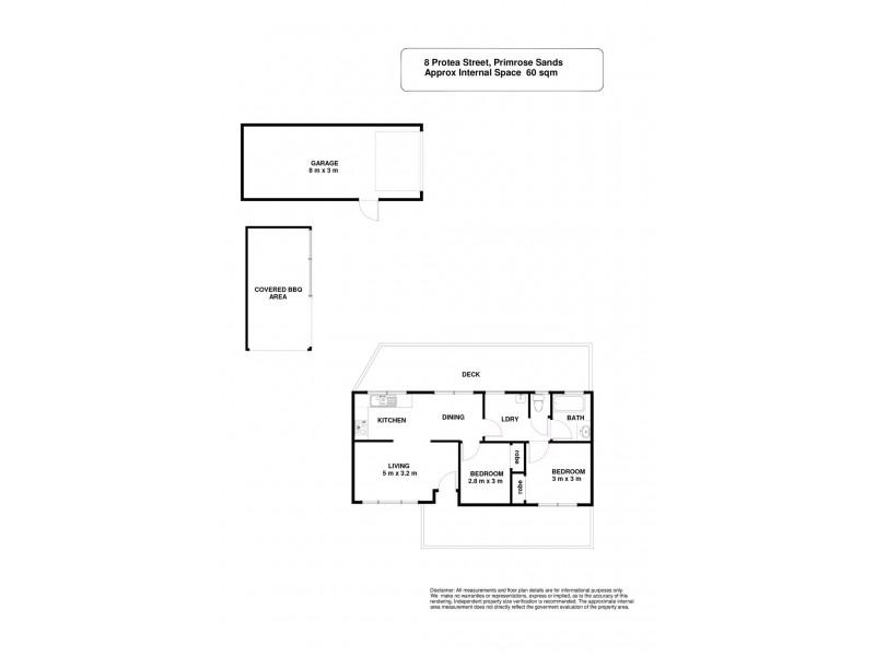 8 Protea Street, Primrose Sands TAS 7173 Floorplan
