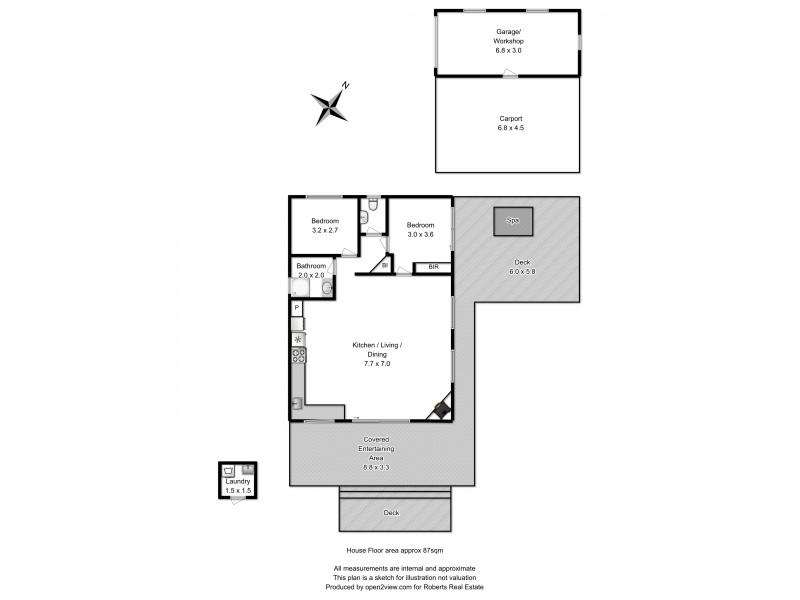 113 Linden Road, Primrose Sands TAS 7173 Floorplan