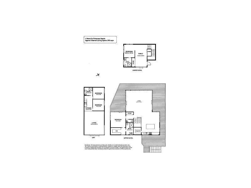 1 Petrel Street, Primrose Sands TAS 7173 Floorplan