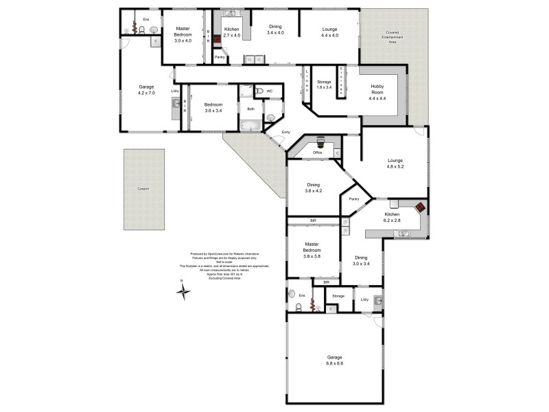 577A Preston Road, North Motton TAS 7315 Floorplan