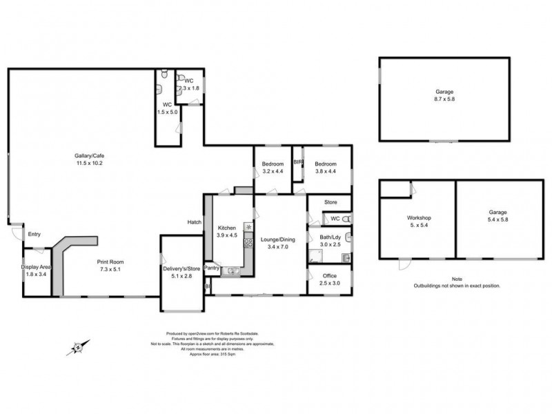 42 King Street, Scottsdale TAS 7260 Floorplan