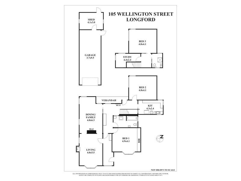 105 Wellington Street, Longford TAS 7301