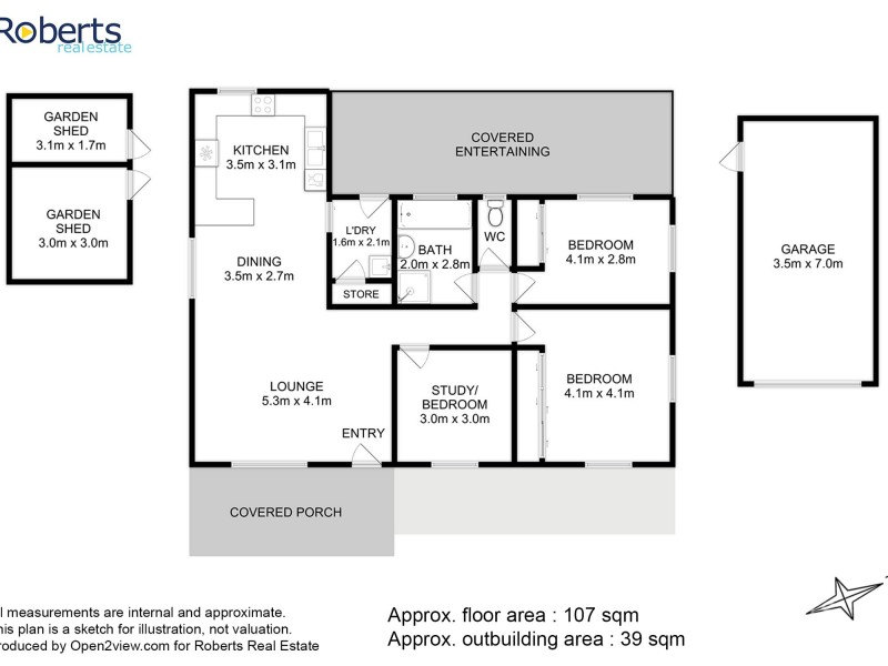 2 Sunrise Drive, Bicheno TAS 7215 Floorplan