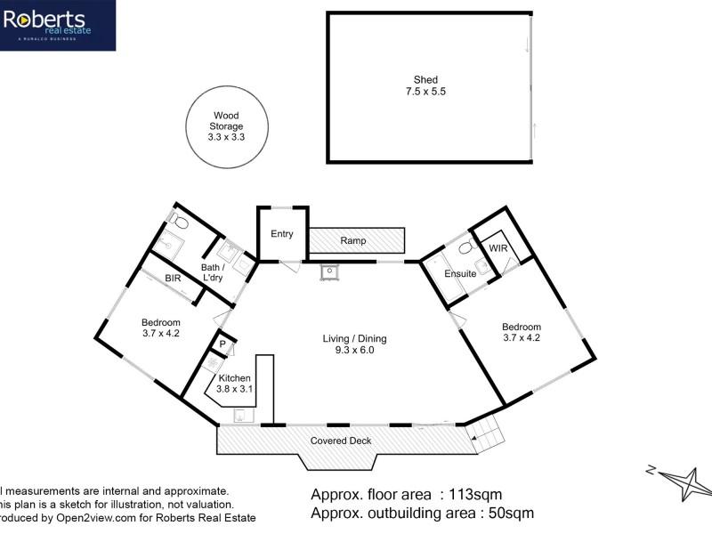 95 Swanwick Drive, Coles Bay TAS 7215 Floorplan