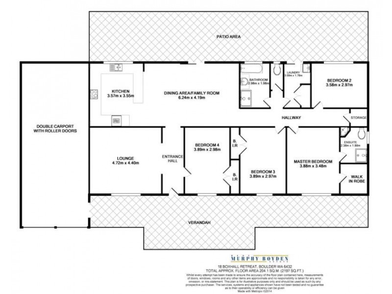 18 Boxhall Retreat, Boulder WA 6432 Floorplan
