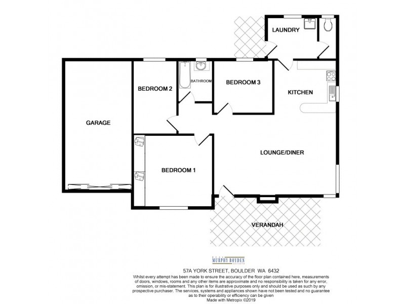 57A York Street, Boulder WA 6432 Floorplan