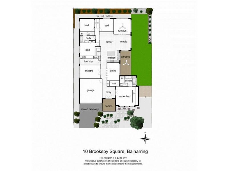 10 Brooksby Square, Balnarring VIC 3926 Floorplan