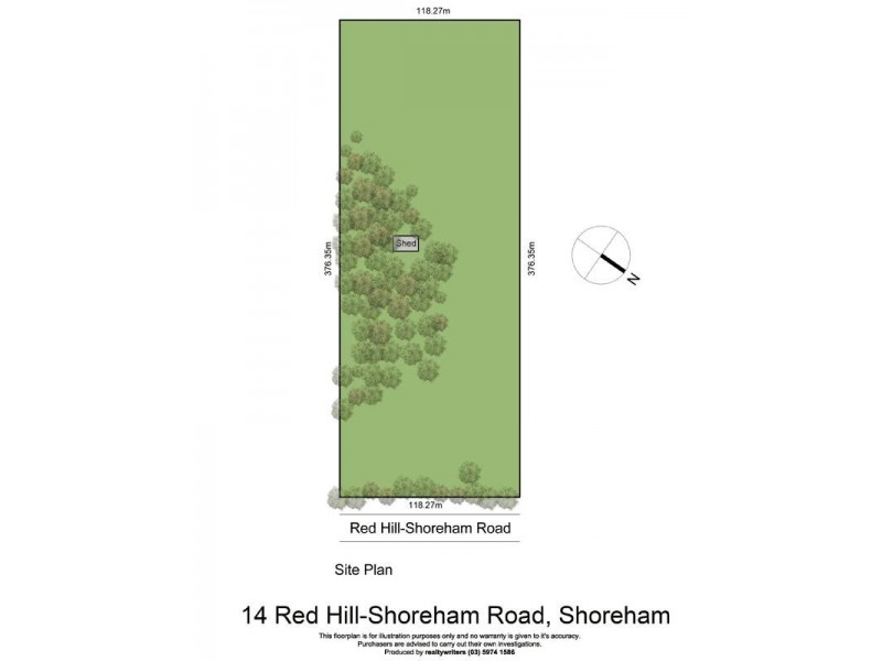 14 Red Hill – Shoreham Road, Shoreham VIC 3916 Floorplan