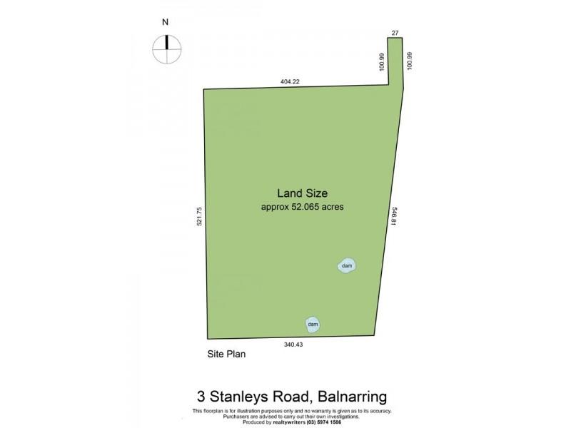 3 Stanleys Road, Balnarring VIC 3926 Floorplan