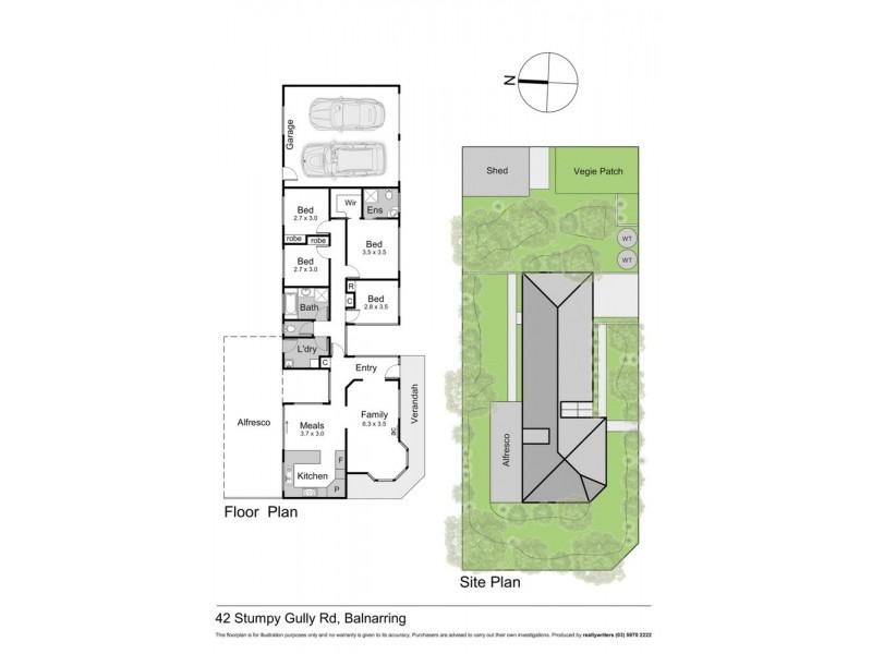 42 Stumpy Gully Road, Balnarring VIC 3926 Floorplan