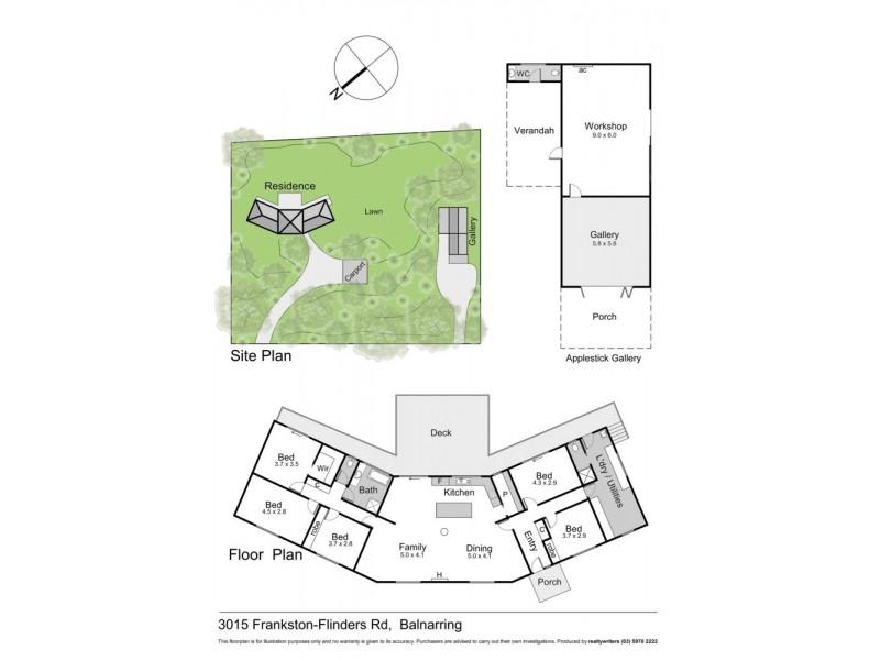 3015 Frankston Flinders Rd, Balnarring VIC 3926 Floorplan