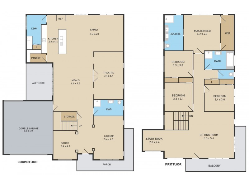 17 Beaconsfield Lane, Caroline Springs VIC 3023 Floorplan