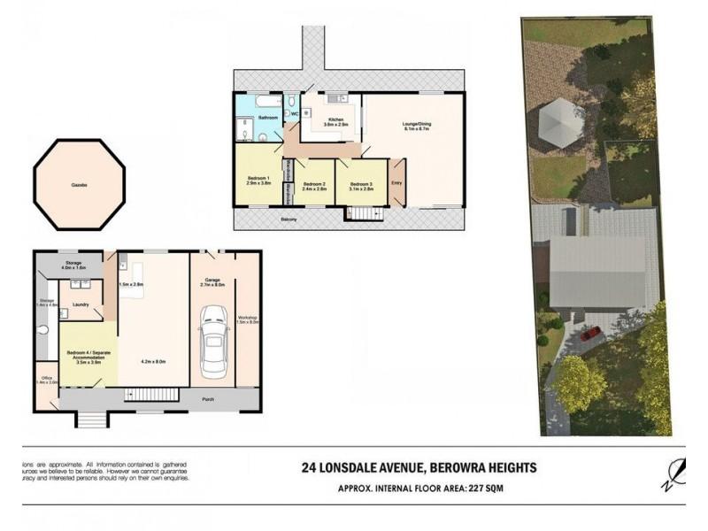 24 Lonsdale Avenue, Berowra Heights NSW 2082 Floorplan