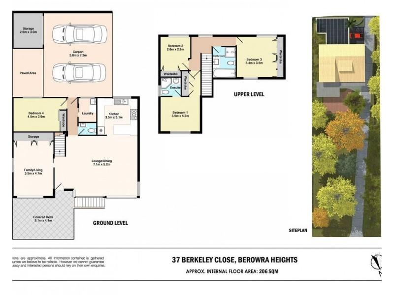 37 Berkeley Close, Berowra Heights NSW 2082 Floorplan
