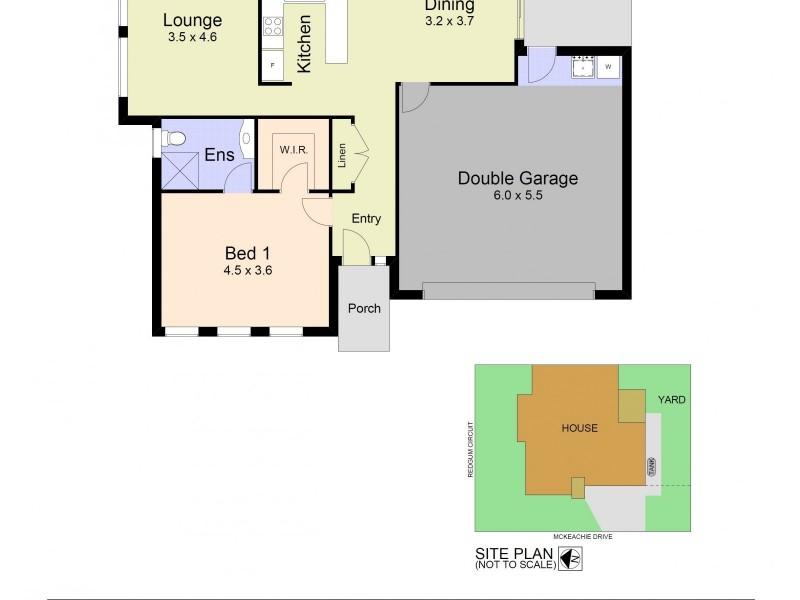 46 McKeachie Drive, Aberglasslyn NSW 2320 Floorplan