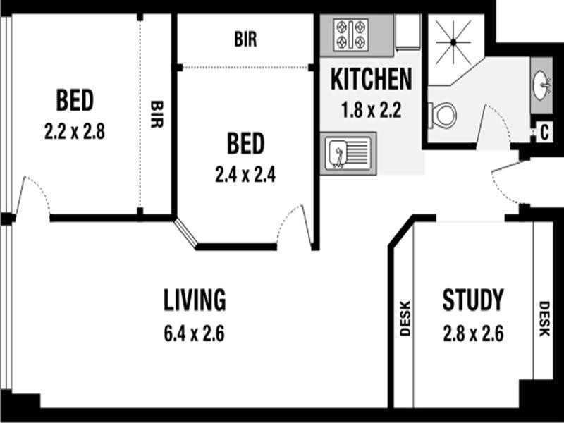 1512/570 Lygon Street, Carlton VIC 3053