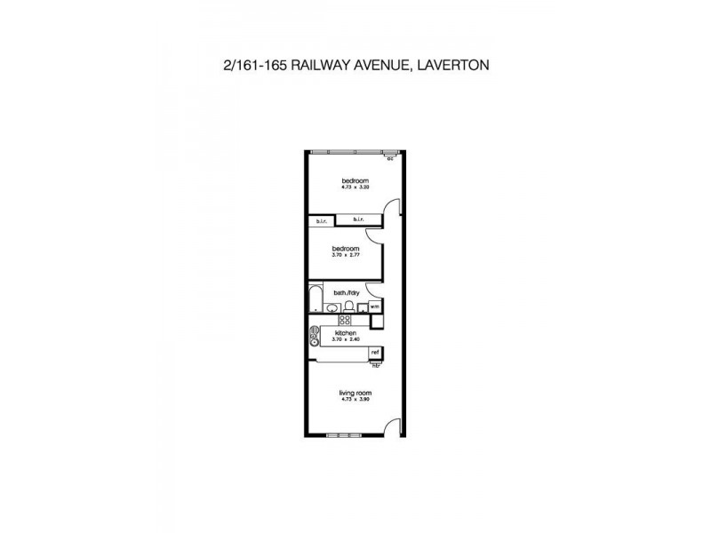 2/161 Railway Avenue, Laverton VIC 3028