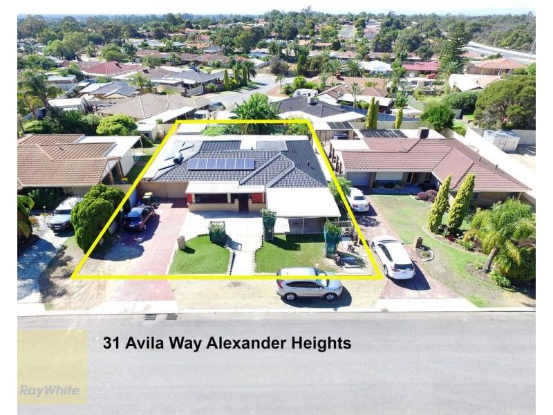 31 Avila Way, Alexander Heights WA 6064