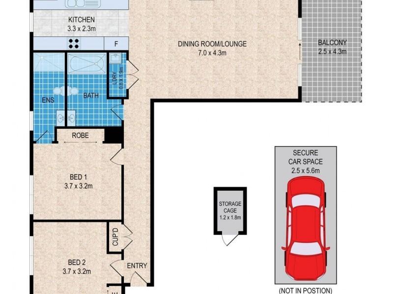 121/1 Meryll Avenue, Baulkham Hills NSW 2153 Floorplan