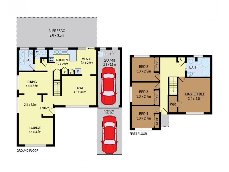 85 Thane Street, Wentworthville NSW 2145 Floorplan