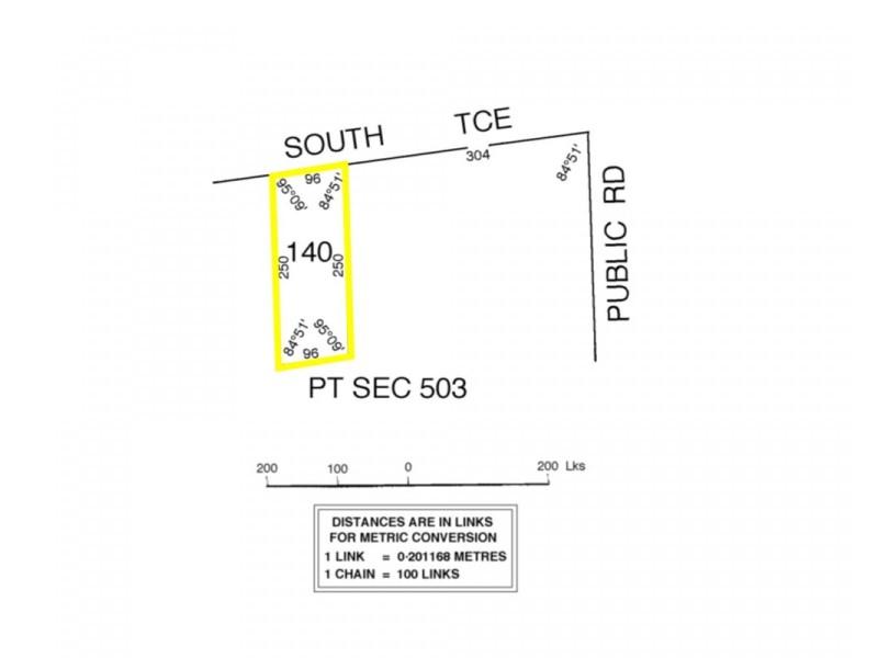 Lot 140 South Terrace, Blanchetown SA 5357