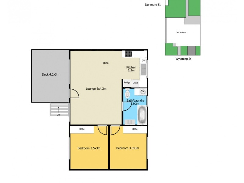 15a Wyoming Street, Blackwall NSW 2256 Floorplan