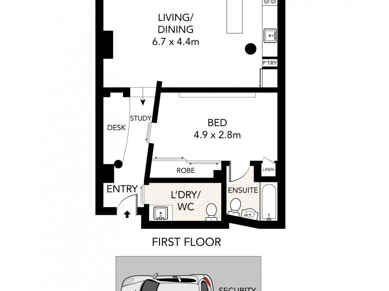C53/240 Wyndham Street,, Alexandria NSW 2015 Floorplan