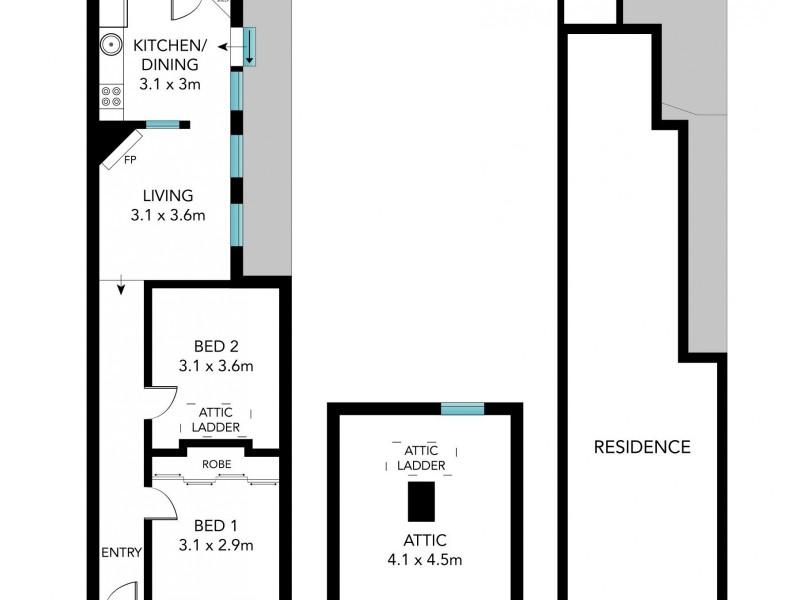 61 Kepos Street, Redfern NSW 2016 Floorplan