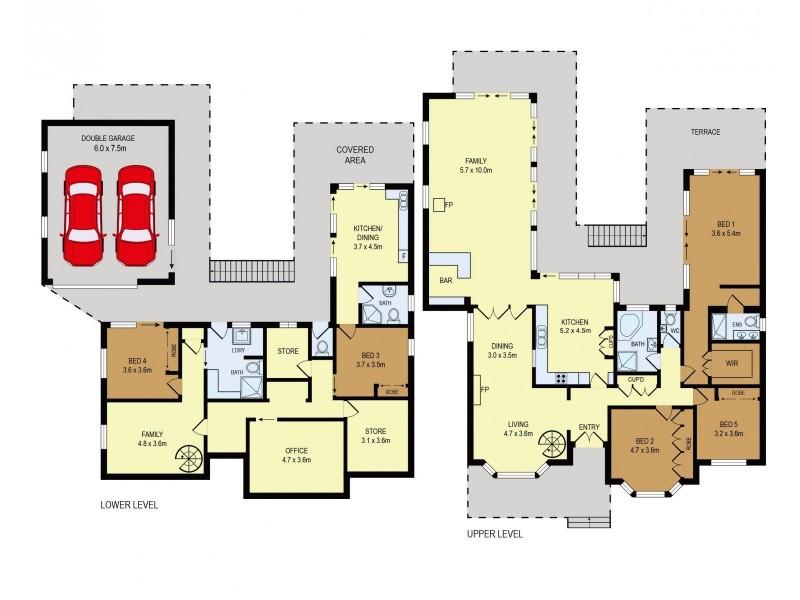 128 Rosa Street, Oatley NSW 2223 Floorplan
