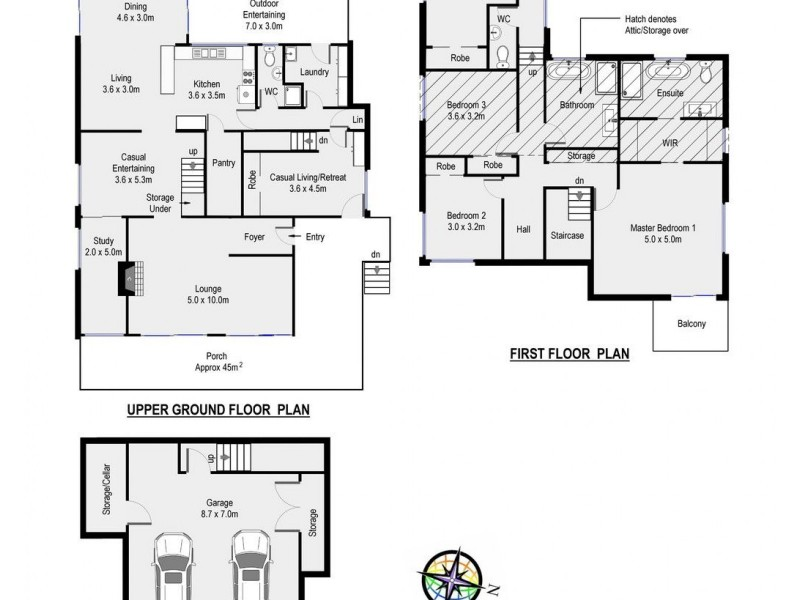 8 Parsons Place, Barden Ridge NSW 2234 Floorplan