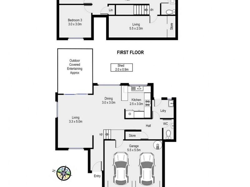 15/31 Mina Road, Menai NSW 2234 Floorplan