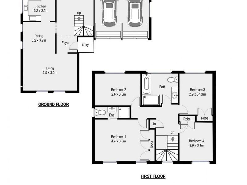 13 Llanberis Drive, Menai NSW 2234 Floorplan